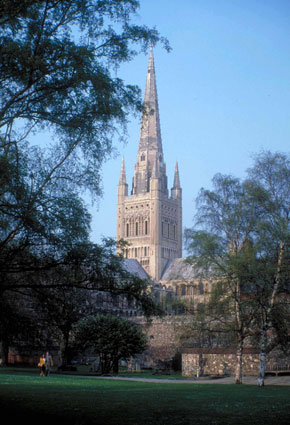 Photo Scorcio della cattedrale in Norwich - Pictures and Images of Norwich