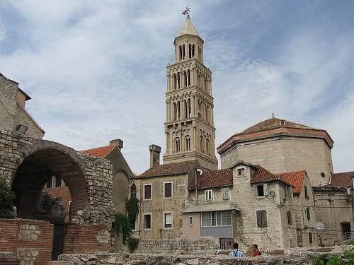 DIOCLETIAN'S PALACE a SPLIT