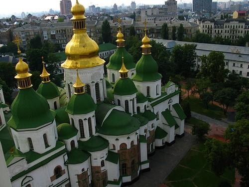 SAINT SOPHIA CATHEDRAL a KIEV