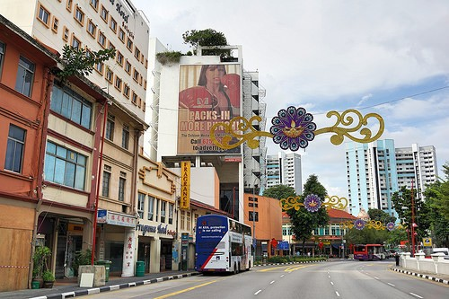 LITTLE INDIA a SINGAPORE