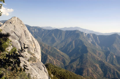 Photo Le Moro Rock in Sequoia National Park - Pictures and Images of Sequoia National Park