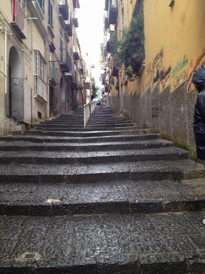 Foto scale montagnola a napoli 412x550 autore - Immagini di scale ...