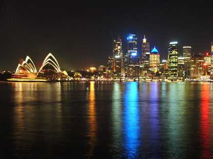 Photo Sidney by night in Sydney - Pictures and Images of Sydney