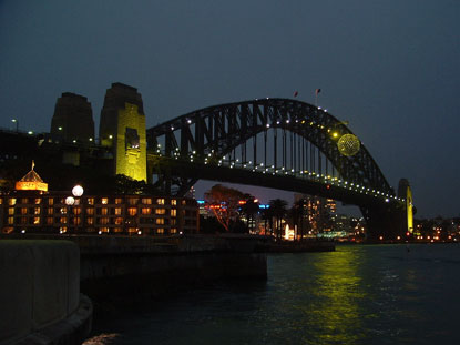 Photo Harbour Bridge in Sydney - Pictures and Images of Sydney