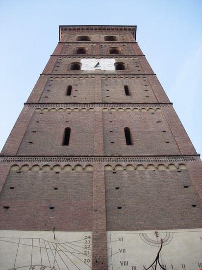 asti - campanile della cattedrale