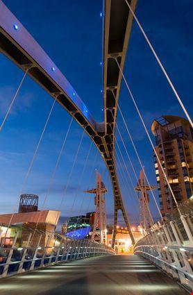Millennium Bridge, particolare