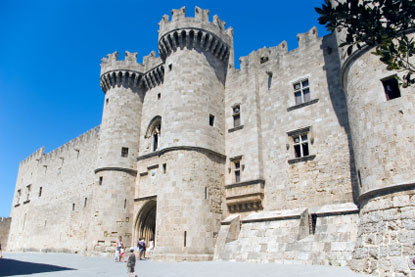 Photo Castello dei cavalieri in Rhodes - Pictures and Images of Rhodes
