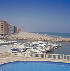 Photo Spiaggia - Playa del Perellonet in Valencia - Pictures and Images of Valencia