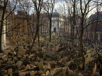 8896 prague il quartiere ebraico di praga il cimitero