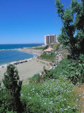 Photo malaga spiaggia playa torrequebrada in m laga - Kenay home malaga ...