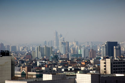 Photo seoul skyline di seoul in Seoul - Pictures and Images of Seoul - 415x275  - Author: Editorial Staff, photo 2 of 11