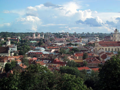 Photo vilnius veduta di vilnius in Vilnius - Pictures and Images of Vilnius - 415x311  - Author: Editorial Staff, photo 1 of 98