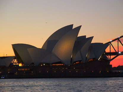 Photo sydney opera house in Sydney - Pictures and Images of Sydney - 415x311  - Author: Editorial Staff, photo 1 of 153