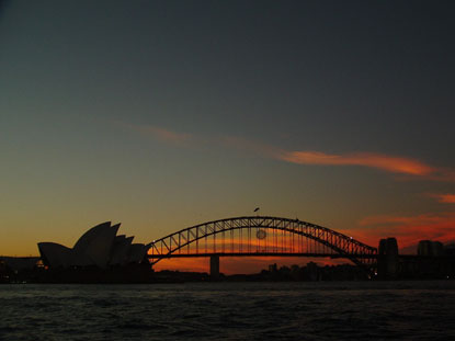Photo Tramonto su Sidney in Sydney - Pictures and Images of Sydney