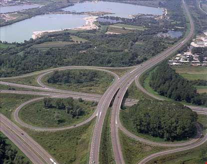 Veduta autostrade