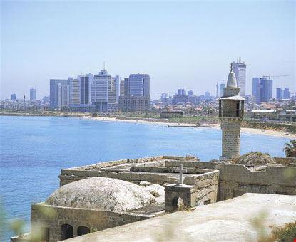 Tel Aviv vista da Jaffa