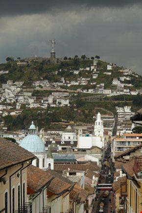 Veduta di Quito