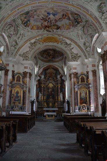 Navata centrale della Chiesa di San Michele