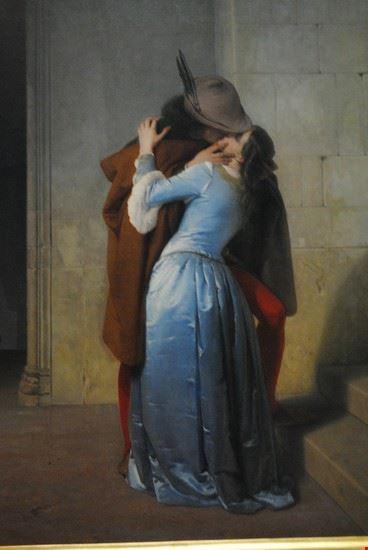 bacio di hayez milano