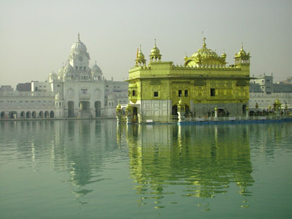 Photo amritsar tempio d oro in Amritsar - Pictures and Images of Amritsar - 415x311  - Author: Editorial Staff, photo 2 of 16