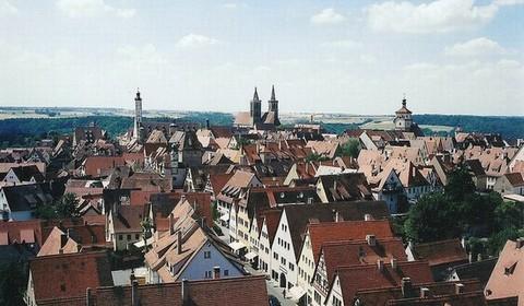 ... - romantisch Ballonfahrt - romantisch - Rothenburg ob der Tauber