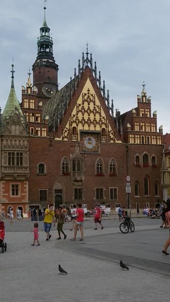 3 settimane a Wroclaw