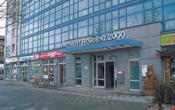 Aparthotel residenz 2000 a berlino for Designhotel residenz 2000 berlin