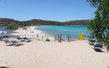 Parte di Spiaggia Privata del Residence - Porto Taverna