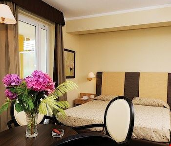 Camera a due letti con terrazza