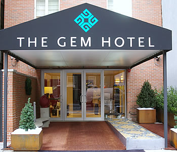 the gem hotel midtown west a new york. Black Bedroom Furniture Sets. Home Design Ideas