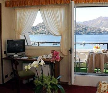 Junior suite con vista lago