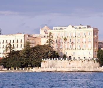 Hotel des etrangers et miramare a siracusa for Hotel des etrangers siracusa