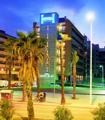 Hotel hesperia del mar a barcellona for Villaggi vacanze barcellona