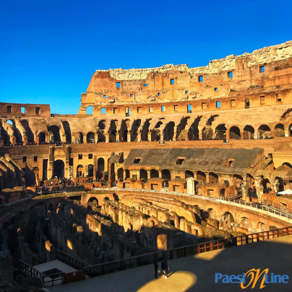 Colosseo: interni