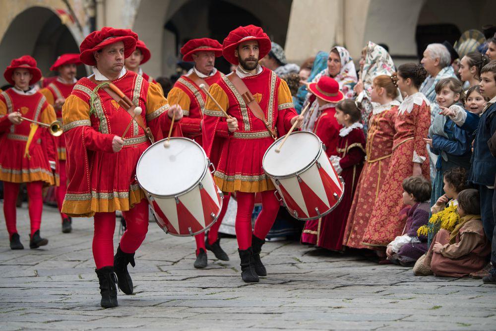 Carnevale in Liguria: Taggia