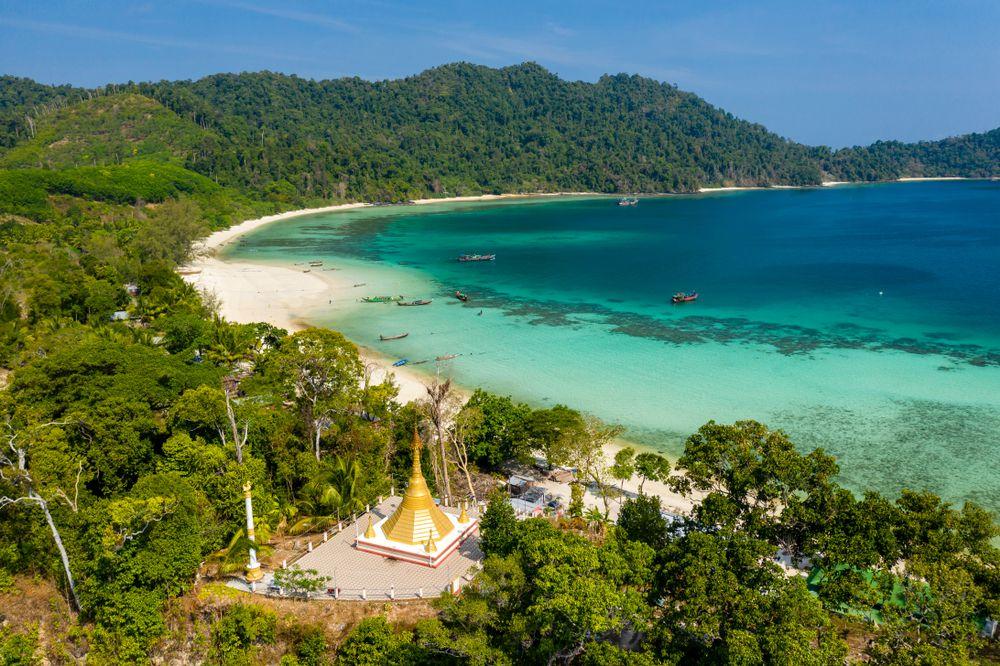 Arcipelago Mergui in Myanmar