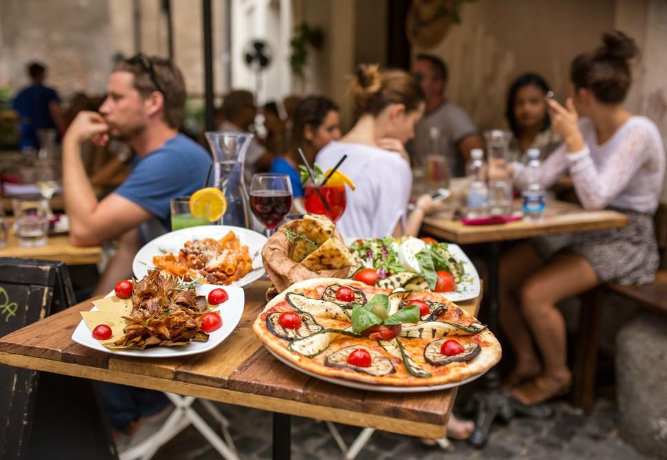 Trastevere: menu contemporaneo
