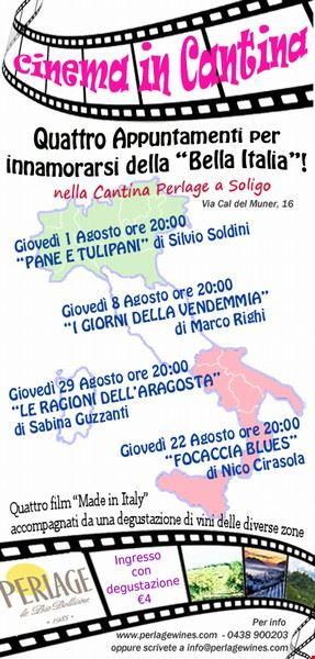 """cinema_in_cantina_""""la_bella_italia"""""""