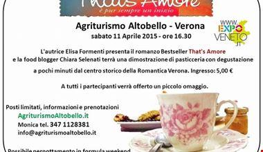 That's Amore - Caffè letterario con dimostrazione di pasticceria