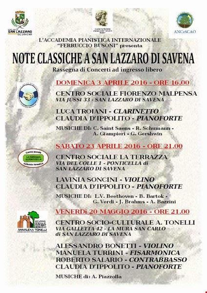 """""""note_classiche_a_san_lazzaro_di_savena"""""""