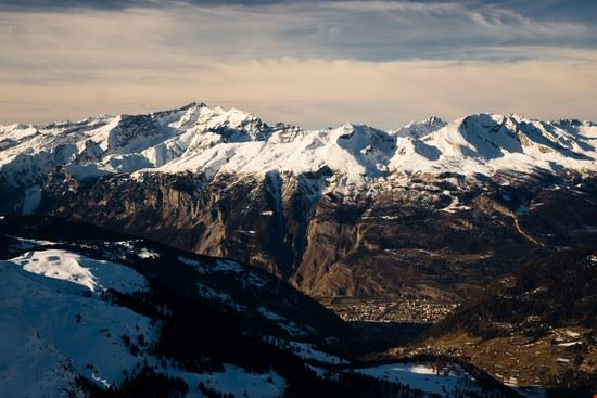 Alps above Chur