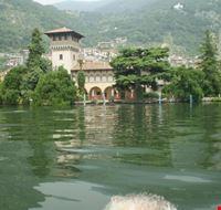 villa sul lago iseo