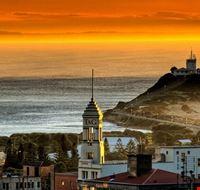 newcastle sunset at nobby  s lighthouse