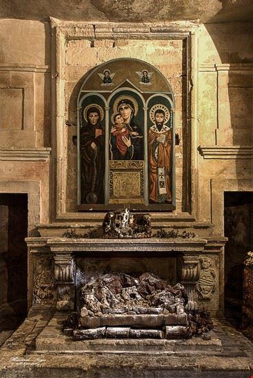 Chiesa Rupestre di San Basilio Magno