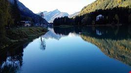 Montagna e lago