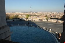 il fontanone sul gianicolo roma