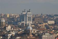vista dal gianicolo roma