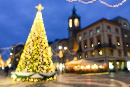 Centro storico a Natale