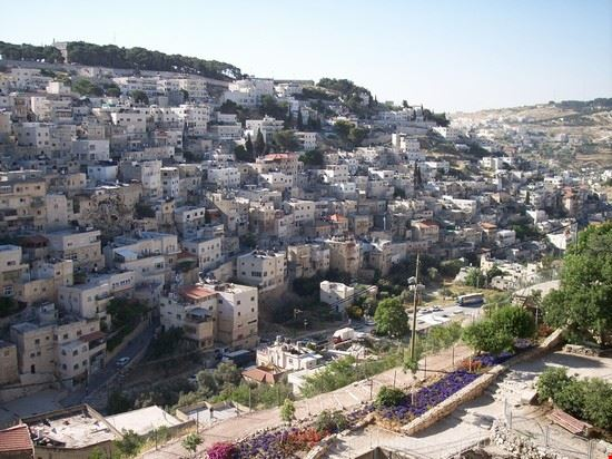 vista della citta valle della geenna gerusalemme