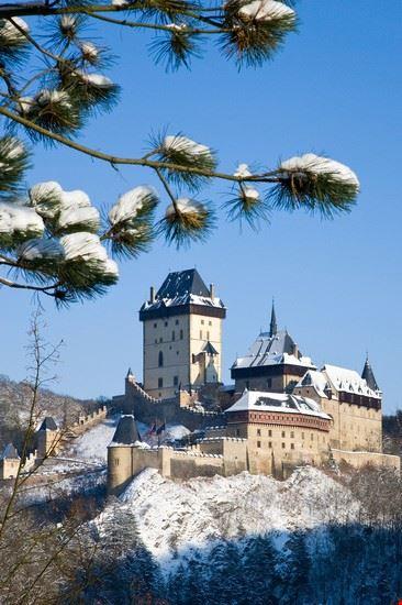 praga castello di karlstejn